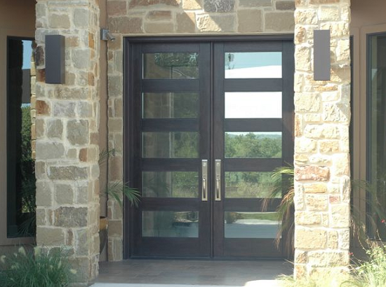 How to secure the front door in your rental house for Glass for front door