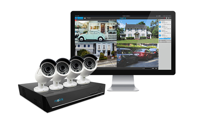 Reolink PoE Security Camera System