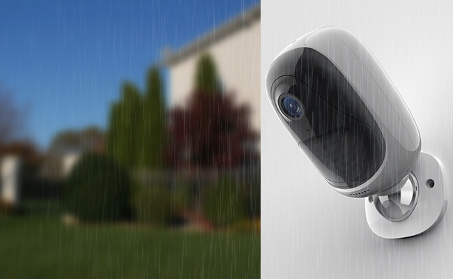 Battery Operated Security Camera about camera