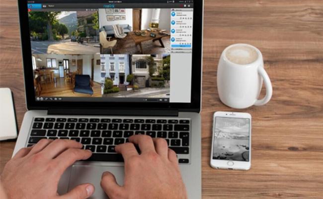 Remote View Your Front Door via Laptop