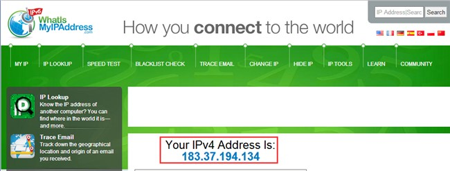 Check My IP Address