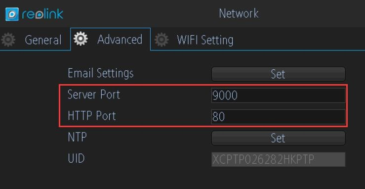 HTTP and Server Port