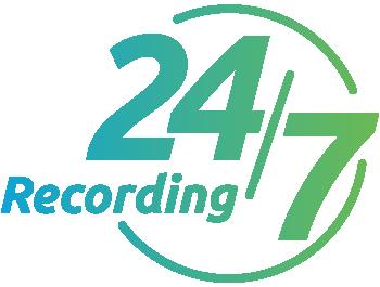 24/7 Video Recording