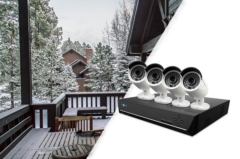 Cold Weather IP Security Cameras Systems